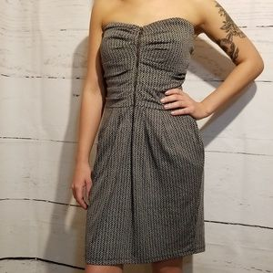 Mystic Strapless Zipper Front Dress